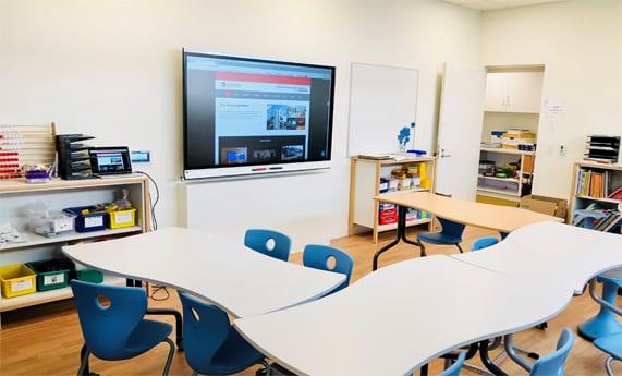 School partnered with LightWerks to integrate AV technology