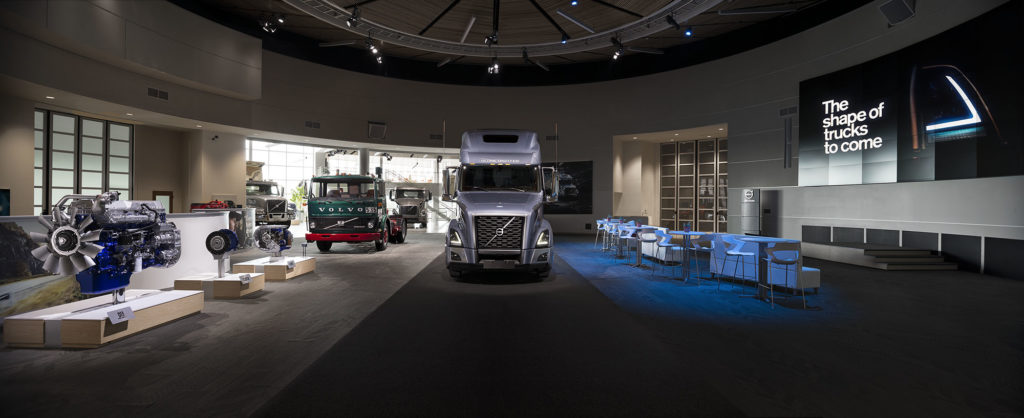 volvo customer center video wall