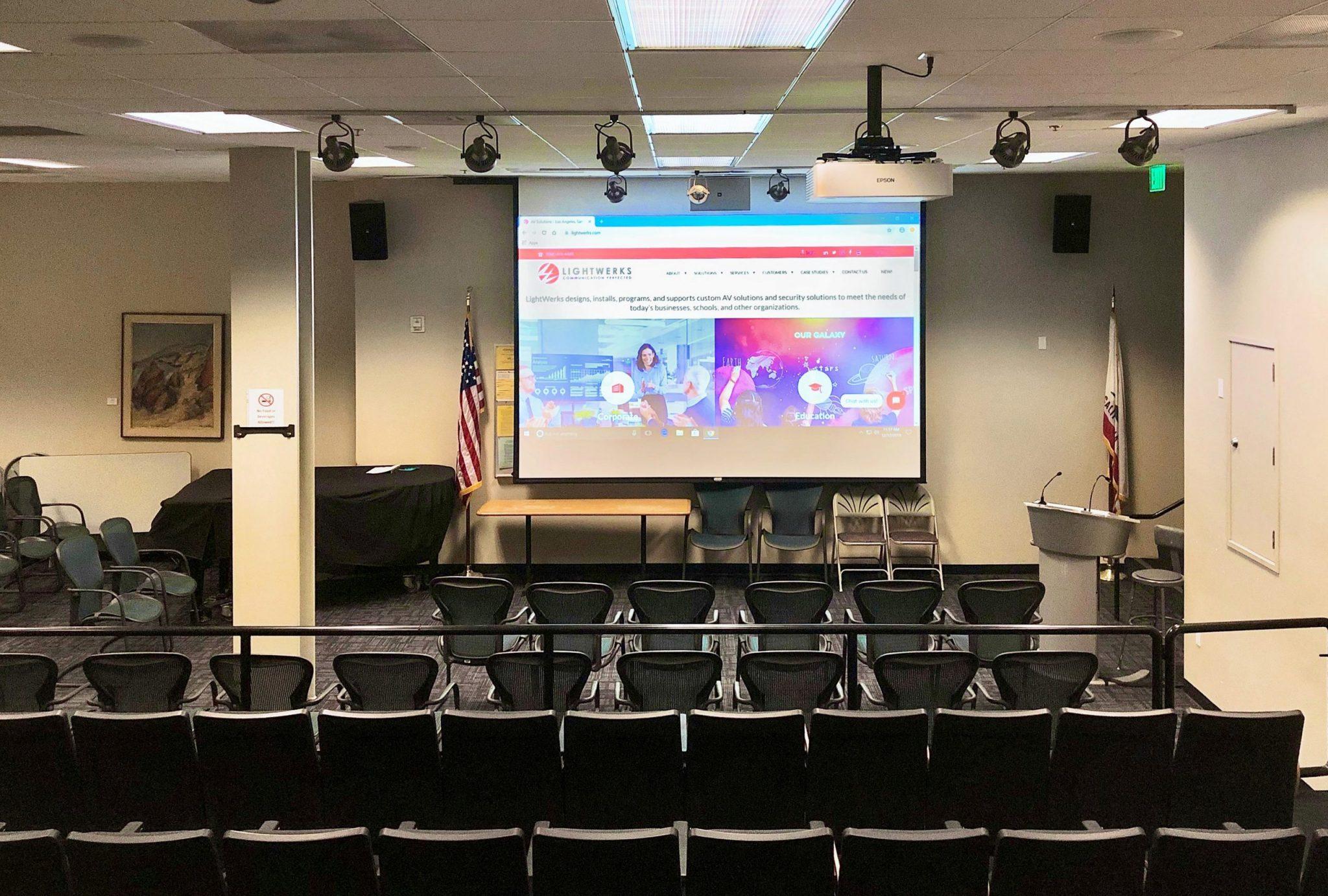 LightWerks Resolves Audio Issue for Santa Monica College