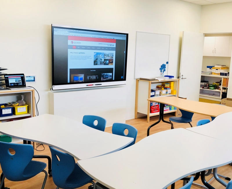 classroom-with-75-inch-smart-ifpb